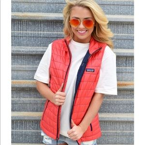 Patagonia lightweight down vest, ready for Spring!